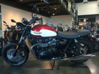 New 2015 Triumph Bonneville Newchurch in Cranberry Red
