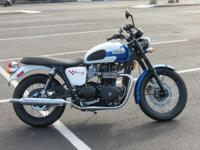 Make: Triumph Year: 2015 Condition: New # 260 of 1000