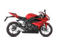 Call  Apex after apex the new Daytona 675 inspires