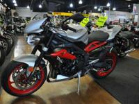 The Street Triple Rx combines aggressive style and