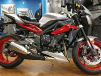 the highest-spec variant of our Street Triple R its