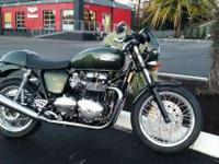 Make: Triumph Year: 2015 Condition: New READY TO HIT