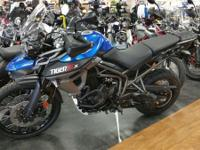 2015 Triumph Tiger 800 XCx This hard to find bike is in