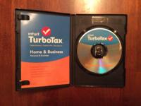 For sale turbo tax home and business used once not