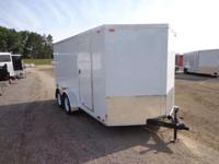 (989) 607-4841 ext.120 7' x 14' Enclosed Steel Trailer