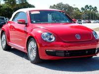 Options:  2015 Volkswagen Beetle Convertible 1.8T