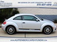 This 2015 Beetle coupe is a local trade and has only