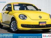 CARFAX 1-Owner, Volkswagen Certified. FUEL EFFICIENT 33