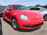 CARFAX One-Owner. Certified. Red 2015 Volkswagen Beetle