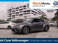 Options:  2015 Volkswagen Beetle Convertible 2.0T