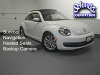 LOW MILEAGE Beetle TDI with NAVIGATION and SUNROOF! VW