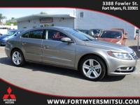2015 Volkswagen CC 2.0T Sport in Light Brown Metallic,