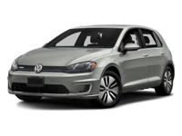 **ONE OWNER**, **CLEAN CARFAX**, **BLUETOOTH**, e-Golf