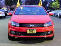 Options:  2015 Volkswagen Eos Executive|Red/Tan|V4 2.0L