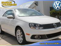 Nav! Turbo! This 2015 Eos is for Volkswagen nuts