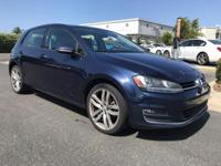 New Price! Recent Arrival! 2015 Volkswagen Golf TSI SEL