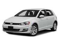 This 2015 Volkswagen Golf 4dr TSI S 6A features a 1.8L