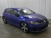Golf R trim. CARFAX 1-Owner, ONLY 33,907 Miles! JUST