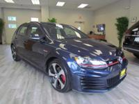 The certified pre-owned 2015 Volkswagen Golf GTI in