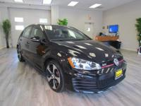 This certified pre-owned 2015 Volkswagen Golf GTI in