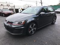 2015 Volkswagen Golf GTI Gray Clean CARFAX. 6-Speed DSG
