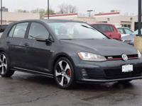 This turbocharged 2015 Volkswagen GTI Autobahn comes