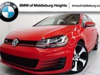 CLEAN CarFax! Land a deal on this 2015 Volkswagen Golf