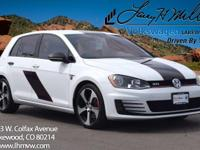 This turbocharged 2015 Volkswagen GTI S comes with