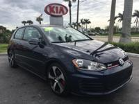2015 Volkswagen Golf GTI 2.0T S in Night Blue Metallic,