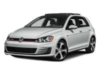 Options:  2015 Volkswagen Golf Gti 2.0T S|Gray/|V4 2.0