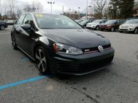 Look at this 2015 Volkswagen Golf GTI S. Its Manual
