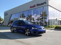 CARFAX One-Owner. Clean CARFAX. Blue 2015 Volkswagen
