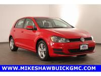 Vw golf tdi red and ready to go ! Great economy and