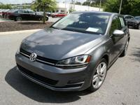 This 2015 Volkswagen Golf TSI S 4-Door in Gray