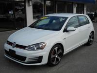 Come in and test drive the sporty 2015 Volkswagen Gti