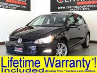 Lifetime powertrain warranty included*! This vehicle