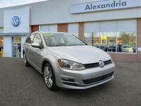 Golf SportWagen SEL.New Price! Certified. CARFAX