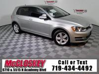 Impress anyone in this 2015 Volkswagen Golf TDI S