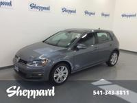 TDI SE trim. Heated Seats, Sunroof, Satellite Radio,