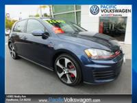 1 OWNER, CERTIFIED, SUPER CLEAN, GTI AUTOBAHN WITH