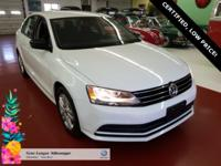 2015, JETTA S WITH TECHNOLOGY PACK ( BLUE TOOTH, AND