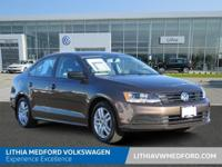 Volkswagen Certified, CARFAX 1-Owner, ONLY 37,638