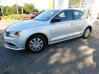 This 2015 Volkswagen Jetta Sedan 2.0L S is offered to