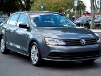 Options:  2015 Volkswagen Jetta Sedan 2.0L S|Platinum