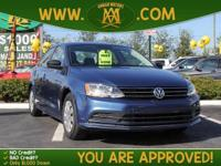 Options:  2015 Volkswagen Jetta Sedan What You See Is