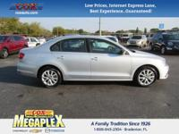 This 2015 Volkswagen Jetta 1.8T SE in Silver is well