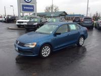 CARFAX 1-Owner. 1.8T SE trim, SILK BLUE METALLIC