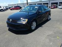Black 2015 Volkswagen Jetta FWD 6-Speed Automatic with