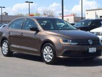 This turbocharged 2015 Volkswagen Jetta SE comes with