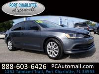 CARFAX One-Owner. Clean CARFAX. Gray 2015 Volkswagen